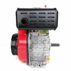 406cc 9HP Diesel Engine 4 Stroke Single Cylinder Vertical Engine Air cooling US