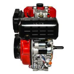 411cc 10HP Diesel Engine 4 Stroke Single Cylinder 72.2mm Shaft Length US Stock