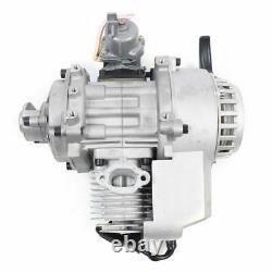 47CC 49CC 2-Stroke Mini Engine Motor Pull Start For Mini Pocket ATV Dirt Bike US
