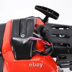 49CC 2-Stroke Engine Motor Single Cylinder Pull Start Mini Choppers Bikes ATV US