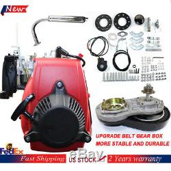 49CC 4-Stroke Gas Petrol Engine Bicycle Motor Kit Air-cooled OHV Single Cylinder