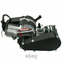 49cc 2 Stroke Engine Motor Kit Pull Start For Pocket Mini Dirt Bike ATV Scooter
