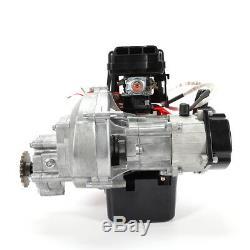 49cc 2Stroke Engine Single Cylinder Pull Start For Mini Pocket Dirt Pit Bikes US