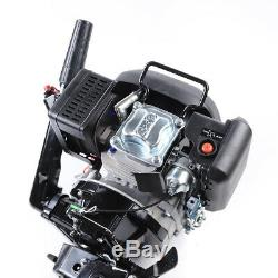 4Stroke 6HP Outboard Motor Air Cooling Fishing Boat Engine Single Cylinder NEW