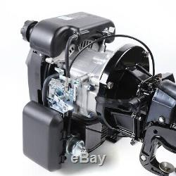 4Stroke 6HP Outboard Motor Air Cooling Fishing Boat Engine Single Cylinder USED