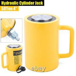 50 Tons Hydraulic Cylinder Jack Single Acting 4 Stroke(100 mm) Lifting Jack Ram