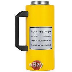 50 tons 6 stroke Single Acting Hydraulic Cylinder Jack Ram