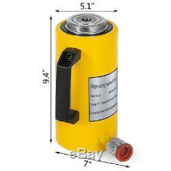 50 tons 6'' stroke Single Acting Hydraulic Cylinder Jack Ram High Efficiency
