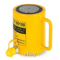 50T 4 Stroke Single Acting Hydraulic Cylinder 10000PSI Automotive Body Metal