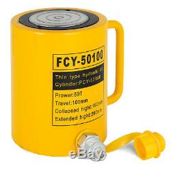 50T 4 Stroke Single Acting Hydraulic Cylinder 50T Automotive Body Metal PRO