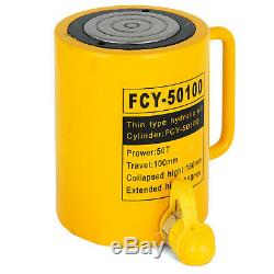 50T 4 Stroke Single Acting Hydraulic Cylinder Industrial Bending 10000PSI