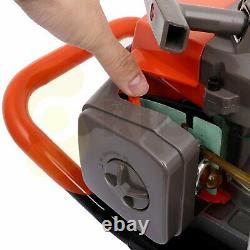 63CC 2 Stroke Gas Powered Post Hole Digger (for 4, 6, 8, 10, 12 Drill Bit)