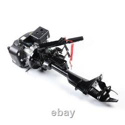 6HP 4-Stroke Outboard Motor Inflatable Boat Engine Air Cooling Single Cylinder