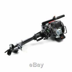 6HP 4 Stroke Outboard Motor Tiller Shaft Boat Engine Single Cylinder 3.75KW USA