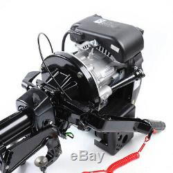 6HP Outboard Motor Fishing Boat Engine & 4 Stroke Air COOLED Single Cylinder