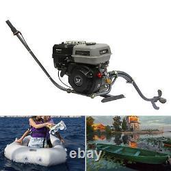 7.5HP 4 Stroke Outboard Motor Gasoline Boat Engine with Bracket Single-Cylinder