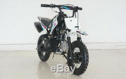 72cc Dirt Bike Air Cooled Single Cylinder 4 Stroke Power Ride Electric AutoStart