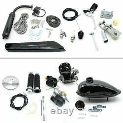 80cc Bicycle Motor Kit Bike Motorized 2 Stroke Petrol Gas Engine Single Cylinder