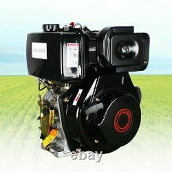 9HP 4 Stroke Diesel Engine 406cc Single Cylinder Motor 72.2mm Shaft Length 186F