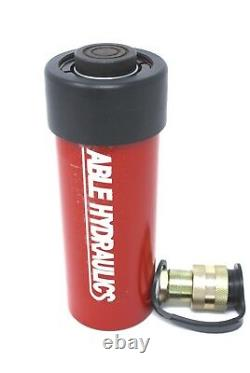 Able Hydraulics 10 Ton 10 Inch Stroke Single Acting Cylinder