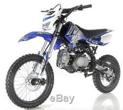 Apollo DB-X19 125cc Dirt Bike With Headlight 4 stroke Single Cylinder