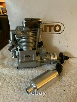 BNIB SAITO FA 120S Radio Control SINGLE CYLINDER RINGED 4 STROKE PLANE Engine