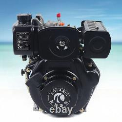 Diesel Engine 247cc 4 Stroke Single Cylinder Vertical Air Cooling Engine 3600rpm
