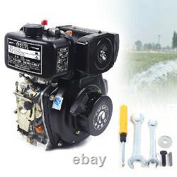 Diesel Engine 247cc Vertical 4 Stroke Single Cylinder Air Cooled Single Cylinder