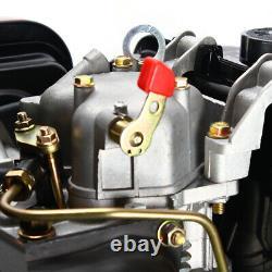 Diesel Engine 4 Stroke 10HP 406CC Air-Cooled Single Cylinder 72.2mm Shaft Engine