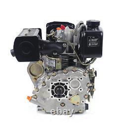 Diesel Engine 4 Stroke Single Cylinder 3600r / min Forced Air Cooling Diesel Eng