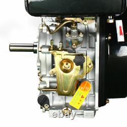 Diesel Engine 406CC 10HP Recoil Start Engine 4 Stroke Single Cylinder Air Cooled