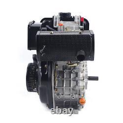 Diesel Engine Vertical Single Cylinder Air Cooled Diesel Engine 247CC 4-Stroke