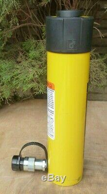 ENERPAC RC-2510 Single-Acting Hydraulic Cylinder, 10,000 psi, 25 Ton, 10.25 Stroke
