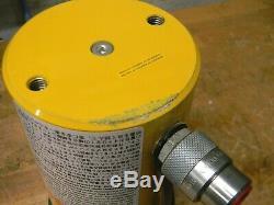 Enerpac Single Acting Hydraulic Cylinder 50 Ton Cap. 6-1/4 Stroke RC506 Damaged