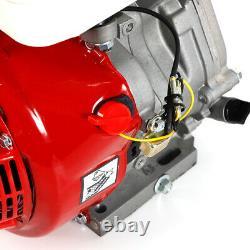 Engine 15 HP 4 Stroke Horizontal Gas Gasoline Engine Single Cylinder 56x42x48cm