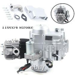 For ATV GO Karts 4 Stroke 110cc Single Cylinder Engine Motor Auto Electric Start