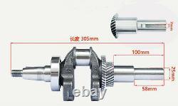 Gas Engine Motor 1.1L Motorcycle 4-stroke OHV Single Cylinder Horizontal USUS