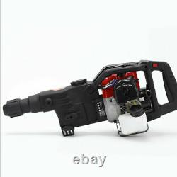 Gasoline Jack Hammer Single Cylinder 2 Stroke Concrete Breaker Drill Punch Bit