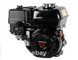 Genuine Honda 5.5 HP Single Cylinder 4 Stroke Air Cooled Petrol Engine (Black)