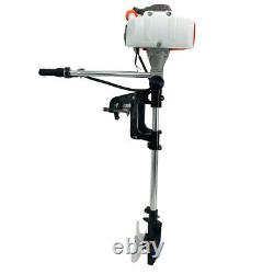 Heavy Duty Outboard Motor Boat Strong Engine 2Stroke Manual Recoil Start System