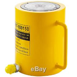 Hydraulic Cylinder Jack 100 Tons 6 Stroke Single Acting Bending Durable Pulling