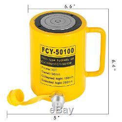 Hydraulic Cylinder Jack 50T 4 Stroke Single Acting Durable Solid Stroke Ram