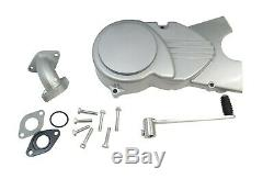 Lifan 125cc Motorcycle Engine Manual OHC Horiz Single Cylinder 4 Stroke Silver