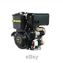 Loncin Diesel Engine, 6.5 HP Single Cylinder, 4-Stroke Direct Injection