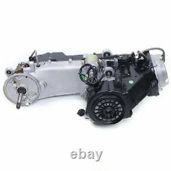 Long Case 150CC GY6 Single Cylinder 4-Stroke Scooter Complete Engine Motor CVT