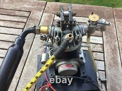 Model engine four stroke, single cylinder Gannet