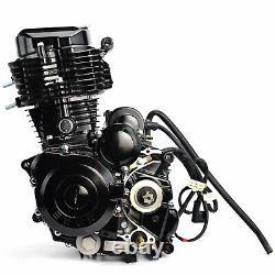 Motorcycle Engine Motor 350cc 4-Stroke Engine Single-cylinder Water-cooled Pz30