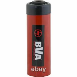 NEW! BVA Hyd Single Acting Hollow Hole Hydraulic Cylinder 20 Ton 6 Stroke