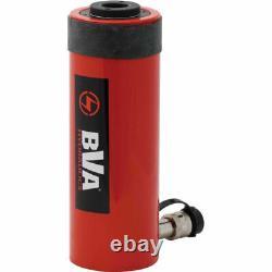 NEW! BVA Hyd Single Acting Hollow Hole Hydraulic Cylinder 30 Ton 6 Stroke