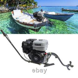 NEW Gasoline Fishing Boat Engine 4-Stroke Outboard Motor Single-Cylinder 15HP